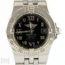 Breitling Uhr Lady Starliner Quarz Edelstahl Ref. A71340