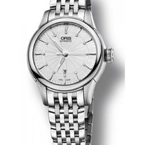 Oris Ladies 561 7687 4051-07 8 14 77 Artelier Date Watch