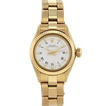 Rolex Oyster Perpetual Lady en or jaune Ref : 6719 Vers 1977