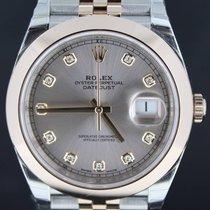Rolex Datejust II Gold/Steel Jubilee Strap Pink Diamond Dial,41MM