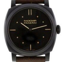 Panerai Radiomir 1940 3 Days Ceramica 48MM Leather Men Watch...