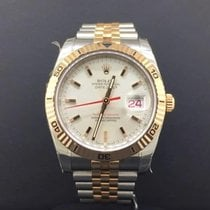 Rolex Datejust Turnograph 36mm Steel/Rose Gold Jubilee...