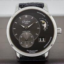 Glashütte Original 90-02-43-32-05 PanoMatic Lunar SS Grey Dial...