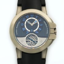 Harry Winston Ocean Tourbillon Zalium Watch Ref. 400-MAT44Z
