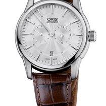 Oris Artelier Regulateur Crocodile Leather