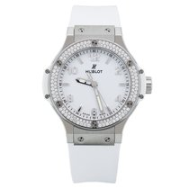 Hublot Big Bang 38mm Quartz Steel White Diamonds