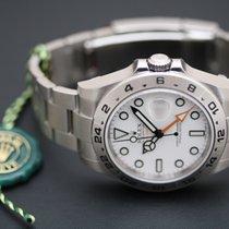 Rolex Explorer II ref. 216570 white dial - ungetragen  - lagernd