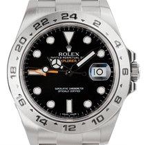 Rolex Explorer II 42mm Steel Black Dial Oyster 216570