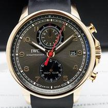 IWC IW390209 IWC Portuguese Yacht Club Flyback Grey Dial...