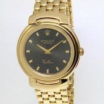 Rolex Midsize Cellini 18k Yellow Gold Jubilee Dial Quartz...