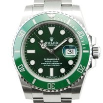 "Rolex Submariner Date ""Hulk"" Stainless Steel - 116610LV"