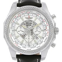 Breitling Bentley Gmt B05 Unitime Silver Dial Mens Watch...