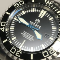 Deep Blue Master 2000 10 Year Anniversary Swiss ETA Automatic...