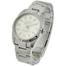 Rolex Used 114210_used_silver_arabic Air-King in Steel -...