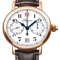 Longines Column-Wheel Single Push-Piece Chronogr