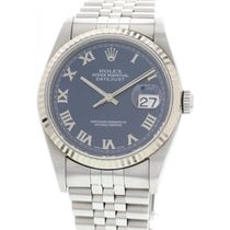 Rolex Datejust Blue Dial 16234 Stainless Steel Watch