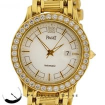 Piaget Polo 24010 M 501d Custom Diamond Bezel 18k Yellow...