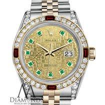 Rolex Womens Rolex Steel & Gold 36mm Datejust Two Tone...