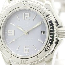 TAG Heuer Polished Tag Heuer Link Professional Blue Mop Dial...