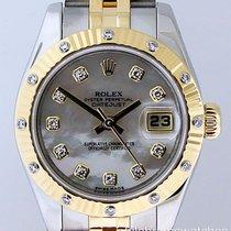 Rolex Datejust Ladies White MOP Diamond Bezel Two-Tone