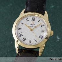 Omega 18k (0,750) Gold Louis Brandt Automatik Herrenuhr 166.0300
