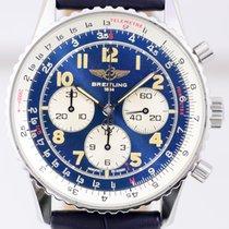 Breitling Navitimer 92 Chronograph blau Edelstahl Automatic...