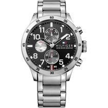 Tommy Hilfiger Uhr Herrenuhr Trent Casual Sport 1791141
