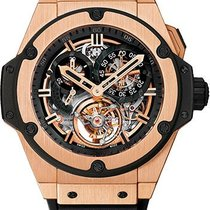 Hublot 708.PX.0180.RX King Power Chrono Tourbillon - Rose Gold...