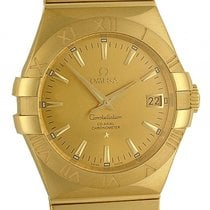 Omega Constellation Co-Axial 18kt Gelbgold Automatik 35mm