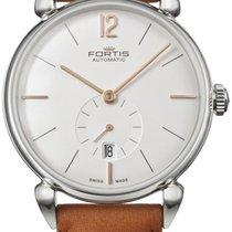 Fortis Terrestis Orchestra A.M. Automatic Steel Mens Strap...