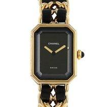 Chanel Première taille M en plaqué or Vers 1990