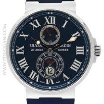 Ulysse Nardin stainless steel Maxi Marine Chronometer