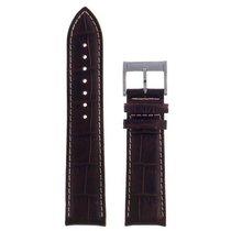 Hamilton Jazzmaster Lederband dunkelbraun 22mm H600.385.101