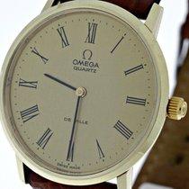 Omega Vintage Dresswatch Omega De Ville 14k/585 Yellow Gold