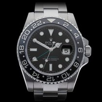 Rolex GMT-Master II Ceramic Stainless Steel Gents 116710LN