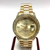 Rolex Daydate 18k Yellow Gold Double Quick Mens/unisex Watch...