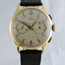 Zenith 1950s 18k Chronograph - cal. 143-6 (Excelsior Park)...
