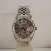Rolex datejust ref. 16234 anno 1991 dial argento jubilee