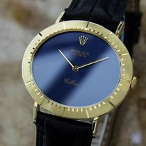 Rolex Cellini 18k Solid Gold Swiss Made Mens Manual 1971...