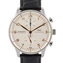 IWC Portoghese Cronografo 41mm In Acciaio Ref. Iw371445