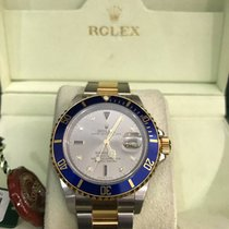 Rolex Submariner w/ Diamond and Sapphire Dial