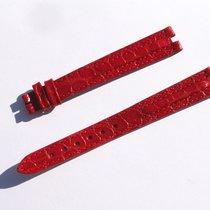 Ζενίθ (Zenith) Croco Band Strap Red Roja 13 Mm 80/103 New Z13-08