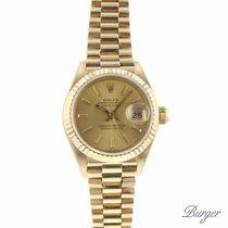 Rolex Datejust Lady 26 Yellow Gold President