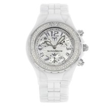 Technomarine TechnoDiamond White Ceramic Diamonds Ladies Watch...