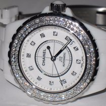 Chanel J12 Ceramic Automatic Diamonds