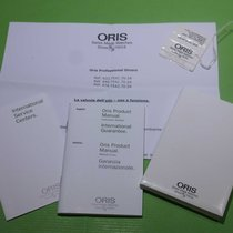 Oris original complete kit warranty papers booklets and tag