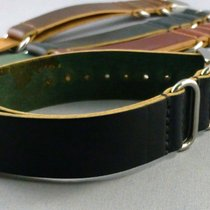 Rolex Horween Shell Cordovan NATO Style Submariners straps