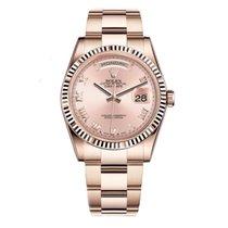 Ρολεξ (Rolex) DAY-DATE 36mm 18K Rose Gold Watch Oyster 2016