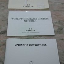 Omega vintage kit paper certificate and bookles cal 3303 3313...