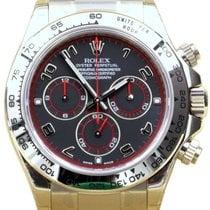 Rolex Cosmograph Daytona 116509 Full 18k White Gold Black Arabic